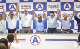 César Acuña: niegan que se haya roto alianza con Lay y Andrade