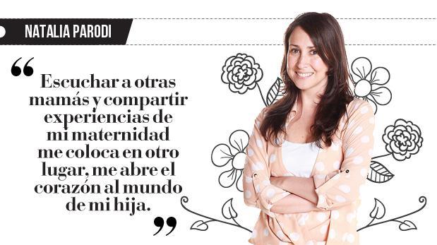 "Natalia Parodi: ""De libros a pañales"""