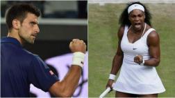 Novak Djokovic y Serena Williams avanzan en Indian Wells