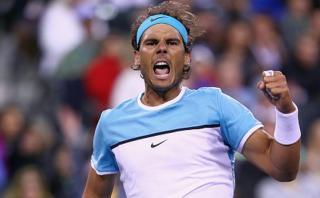 Rafael Nadal venció a Gilles Muller y avanzó en Indian Wells