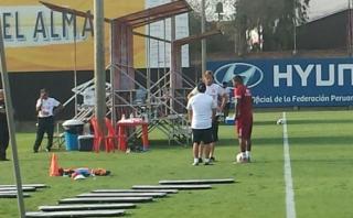 Así entrena Jefferson Farfán con la selección peruana [VIDEO]