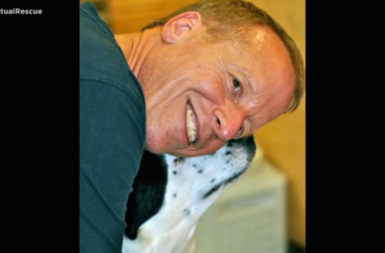 Este perro adoptado salvó su vida