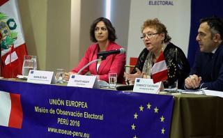 UE preocupada por salidas de Guzmán y Acuña a poco de elección
