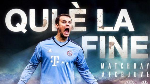 El polémico tuit del Bayern a la Juventus horas antes del duelo