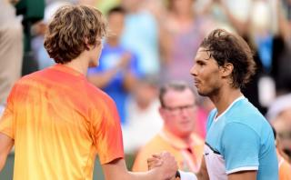 Rafael Nadal remontó y avanzó a cuartos en Indial Wells