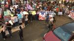 Manifestantes protestaron contra Keiko Fujimori en Tacna - Noticias de cristian suarez