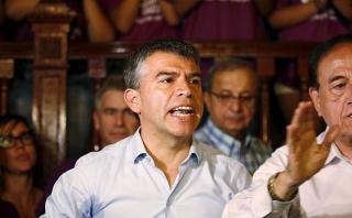 Julio Guzmán niega división al interior de Todos por el Perú