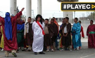 México: reos se preparan para vía crucis de Semana Santa
