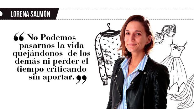 """Lorena Salmón: """"Todos para uno y uno para todos"""""""