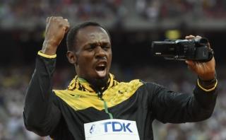 """Usain Bolt presume sus medallas: """"Mi madre me ha enviado esto"""""""