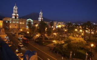 Catedral de Arequipa se suma a la Hora del Planeta