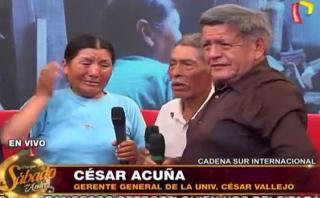 César Acuña: ex candidato regaló dinero y bienes en show de TV