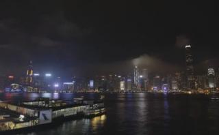"""Así se vivió la """"Hora del Planeta"""" en Hong Kong [VIDEO]"""