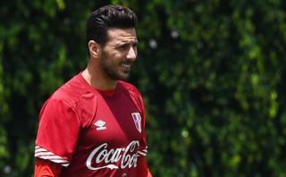 Claudio Pizarro entrenará desde hoy con la selección peruana