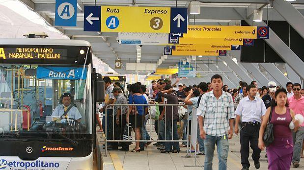 Metropolitano: 5 de cada 10 usuarios inconformes con servicio