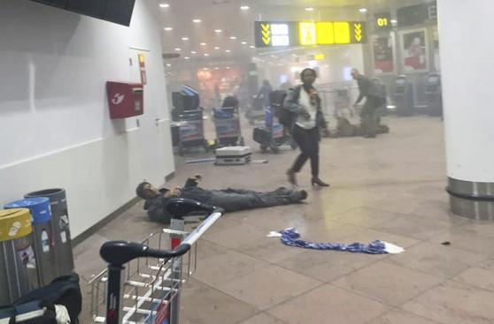 Bruselas: Los daños por los ataques terroristas en imágenes