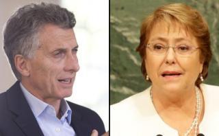 Mauricio Macri y Michelle Bachelet repudian ataques en Bruselas