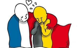 """""""#JeSuisBruxelles"""", el mundo lamenta así atentados en Bruselas"""