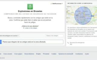 "Facebook activó ""Safety Check"" tras los atentados de Bruselas"