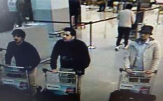 Bruselas: Terroristas llevaban bombas en sus maletas