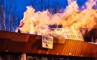 España: Atacan con bengalas mezquita de Madrid
