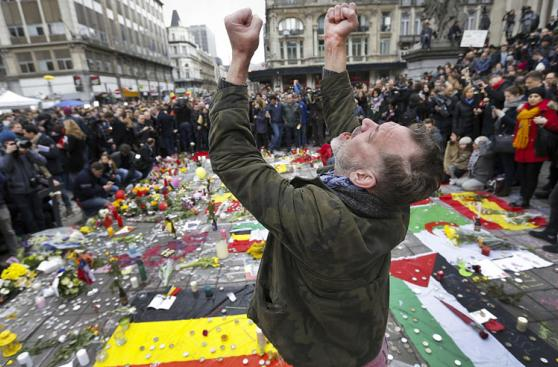 Bruselas, un día después de los ataques que dejaron 31 muertos