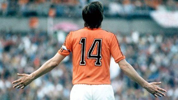 Holanda: homenaje a Johan Cruyff será en minuto 14 ante Francia