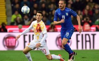 Italia empató 1-1 ante España en amistoso rumbo a Eurocopa 2016