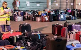 Bruselas: Miles de maletas esperan a sus dueños en aeropuerto