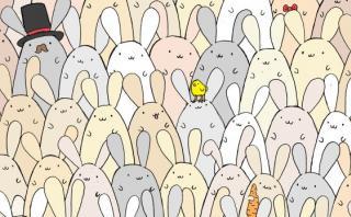 ¿Eres capaz de hallar el huevo de Pascua en esta imagen?