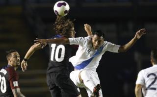 Guatemala venció 2-0 a Estados Unidos por Eliminatorias 2018