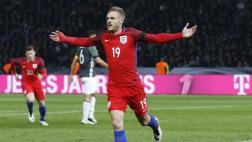 Vardy anotó golazo en su primer partido con Inglaterra [VIDEO]