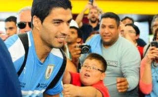 Luis Suárez se disculpó con niño por no firmarle autógrafo