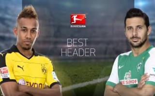 Pizarro protagonizó junto a Aubameyang video de la Bundesliga