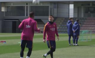 El reencuentro de Messi y Neymar en el Barcelona: ¡puro lujo!