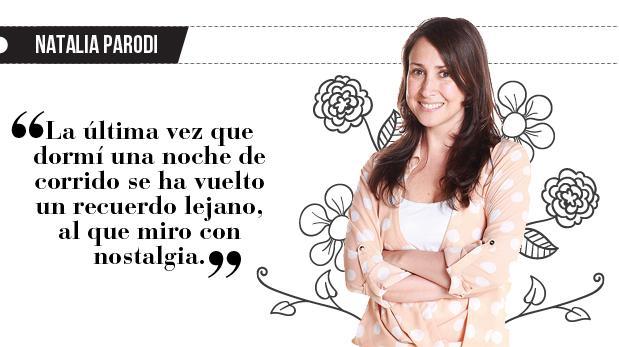 "Natalia Parodi: ""Cinco minutitos más"""