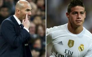 Zidane respondió a polémicas declaraciones de James Rodríguez