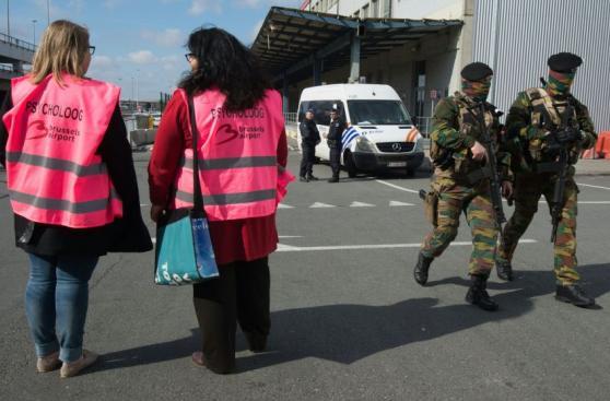 Bruselas: Aeropuerto reabrió con extremas medidas de seguridad