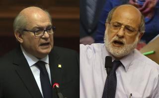 Daniel Abugattás y Pedro Cateriano se enfrentan por incendio