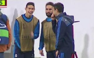 Zinedine Zidane asegura que James Rodríguez se equivocó