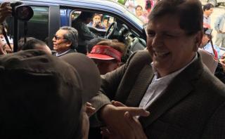 """Alan García: """"De ninguna manera nos retiramos, ¡qué tontería!"""""""