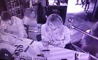 Alan García difundió video del robo que sufrió su hija