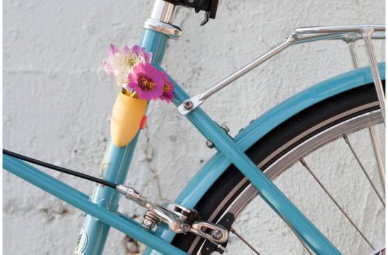 ¿Macetas para decorar tu bicicleta? Mira este proyecto