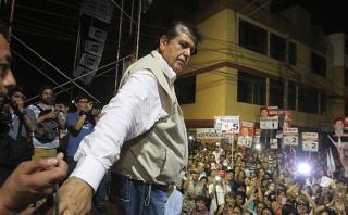 """Idice: """"La movilidad del voto fue nociva para Alan García"""""""