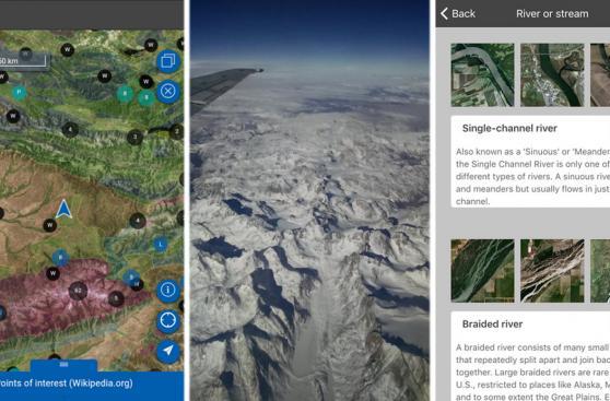 Con esta aplicación sabrás qué ves por tu ventana del avión