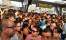 Metropolitano: caos y colas afectaron a miles de usuarios