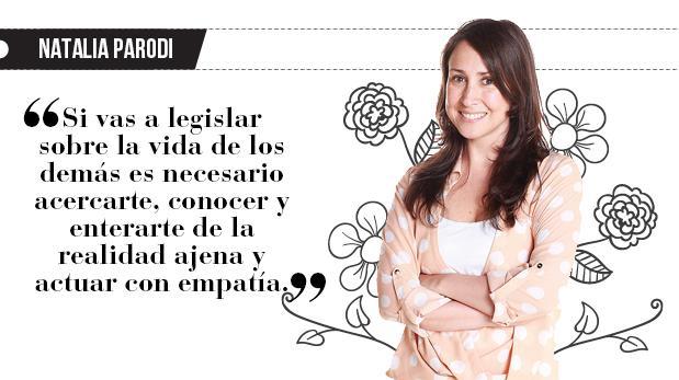 "Natalia Parodi: ""Ni una más"""