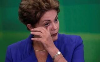 """Dilma: """"Quieren condenar a una inocente y salvan a corruptos"""""""