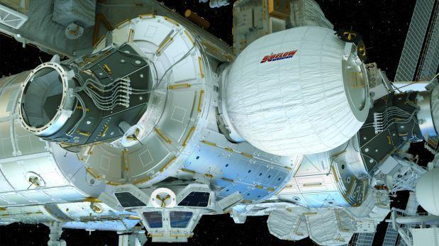 La NASA anexa módulo inflable experimental a estación espacial
