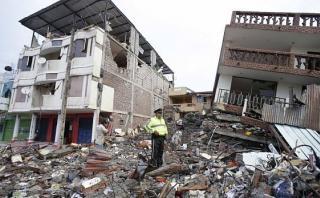 Terremoto en Ecuador: políticos de Perú expresan su solidaridad